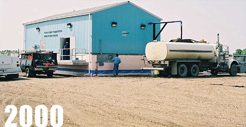 City of Fort Saskatchewan is one of our water dispensing clients
