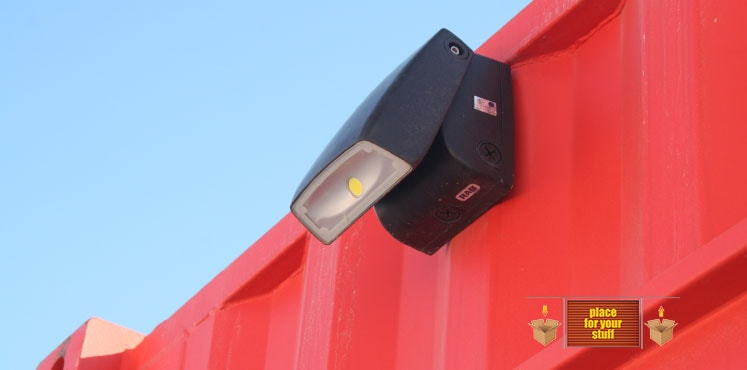 Look for Security and Lighting in Self Storage