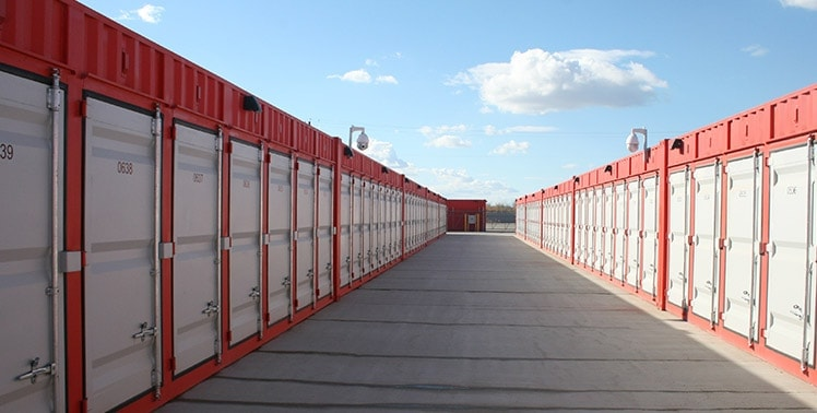 St Albert's Most Affordable Self Storage Facility